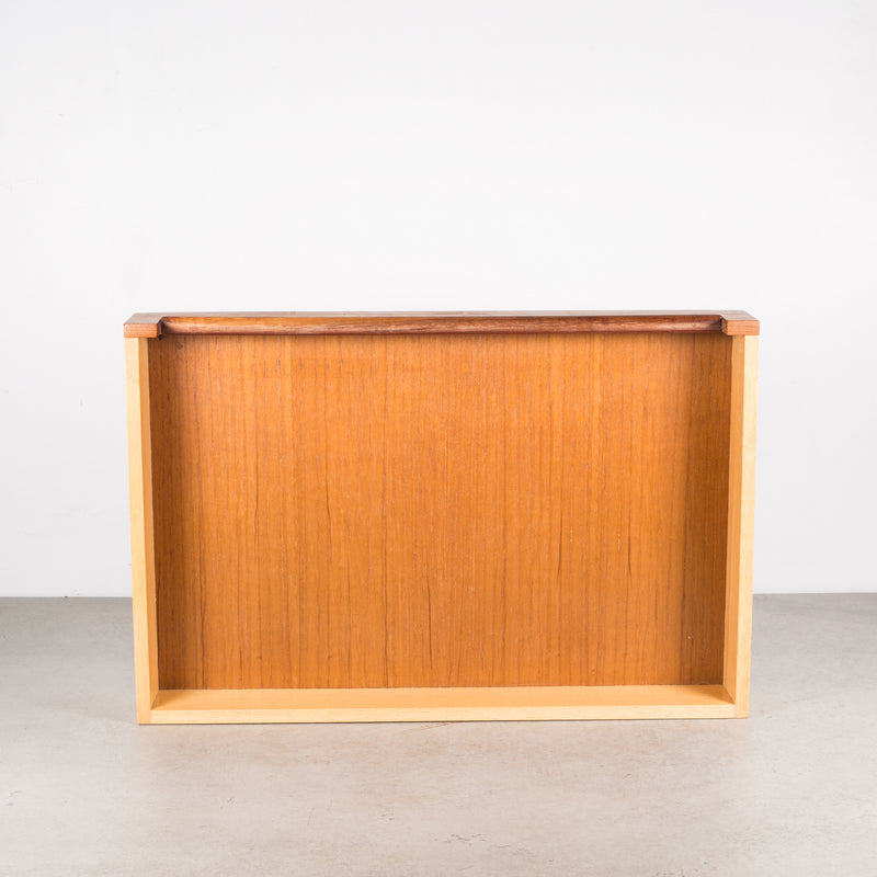Mid-century Teak and Rosewood Inlay Valet c.1960