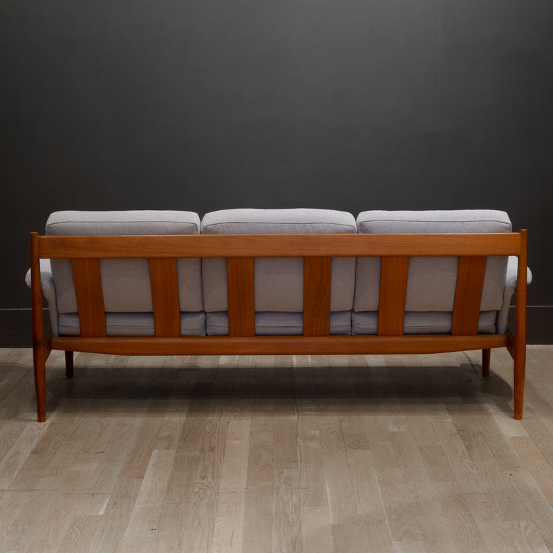 Mid-century Solid Teak Grete Jalk for France and Son Sofa c.1960