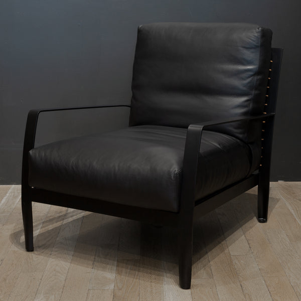 Minotti Richards Leather Armchair c.2017