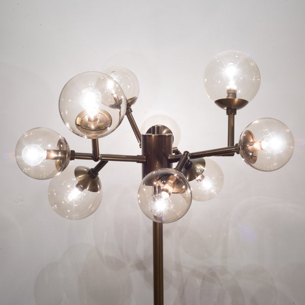 Mitchell + Gold Savoy Brass Floorlamp