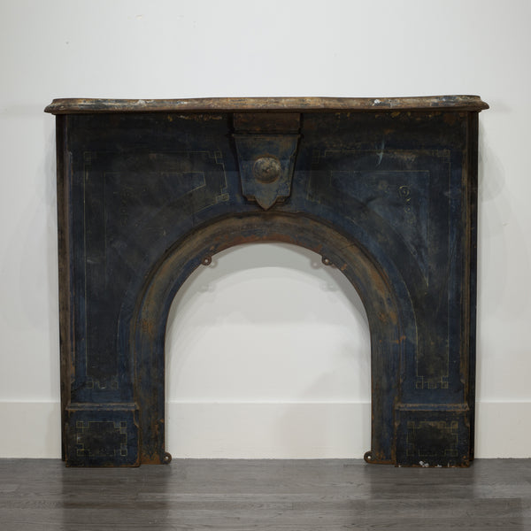 Cast Iron Schoolhouse Fireplace Surround c.1800