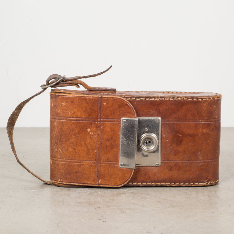 Antique Eastman Kodak No. 2 Folding Brownie Camera and Leather Case c.1919