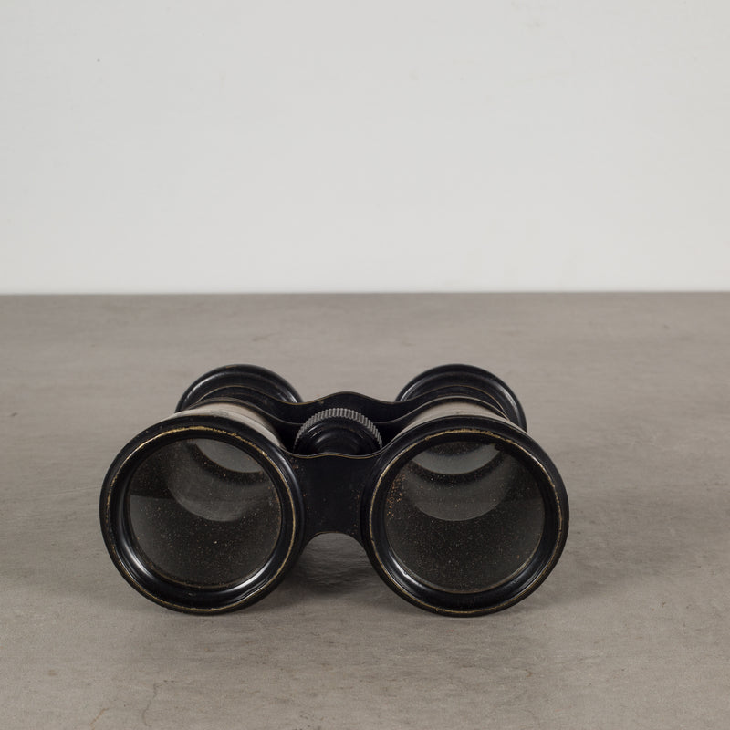 Brass Tourist Galilean Binoculars by SA c.1880