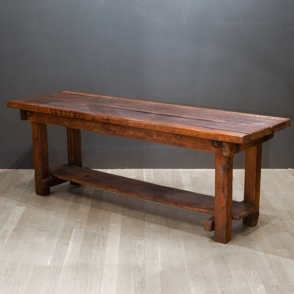 Large Reclaimed Wood Console/Dining Table
