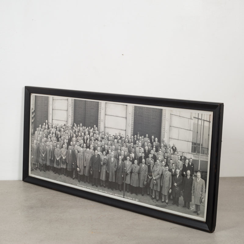 Mid 20th c. Large Panoramic Photo c.1951