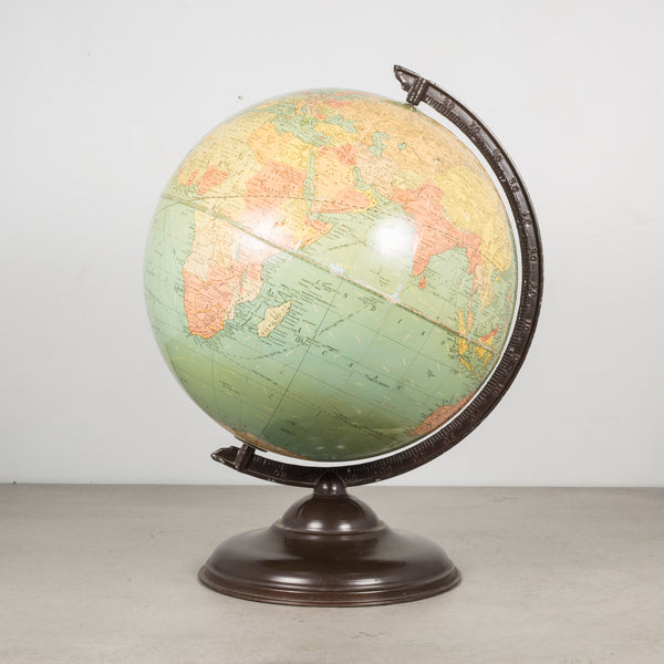 "Antique Replogle 10"" Standard Globe c.1930"