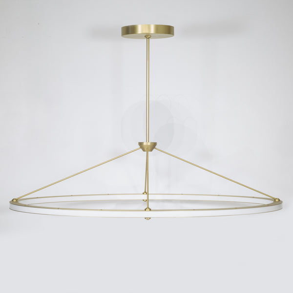 Halo Oval Pendant by Roll & Hill