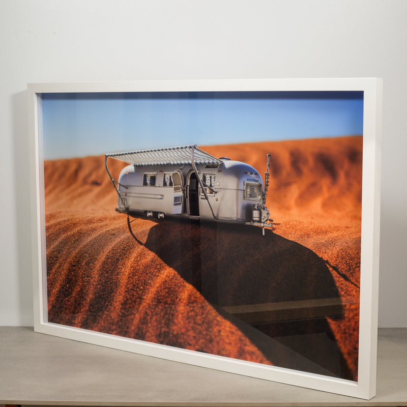 Original Photograph of Model Airstream by Luke Anthony 2017