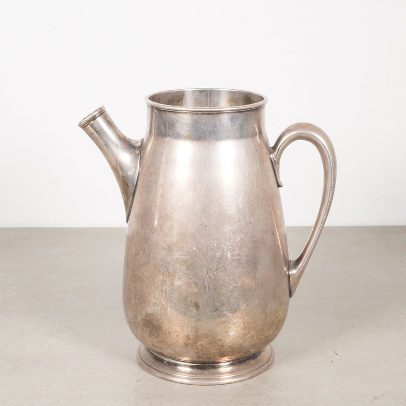 Silver Plated Ardley Club Water Pitcher c.1927