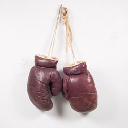Vintage Spalding Leather Boxing Gloves c.1950-1960