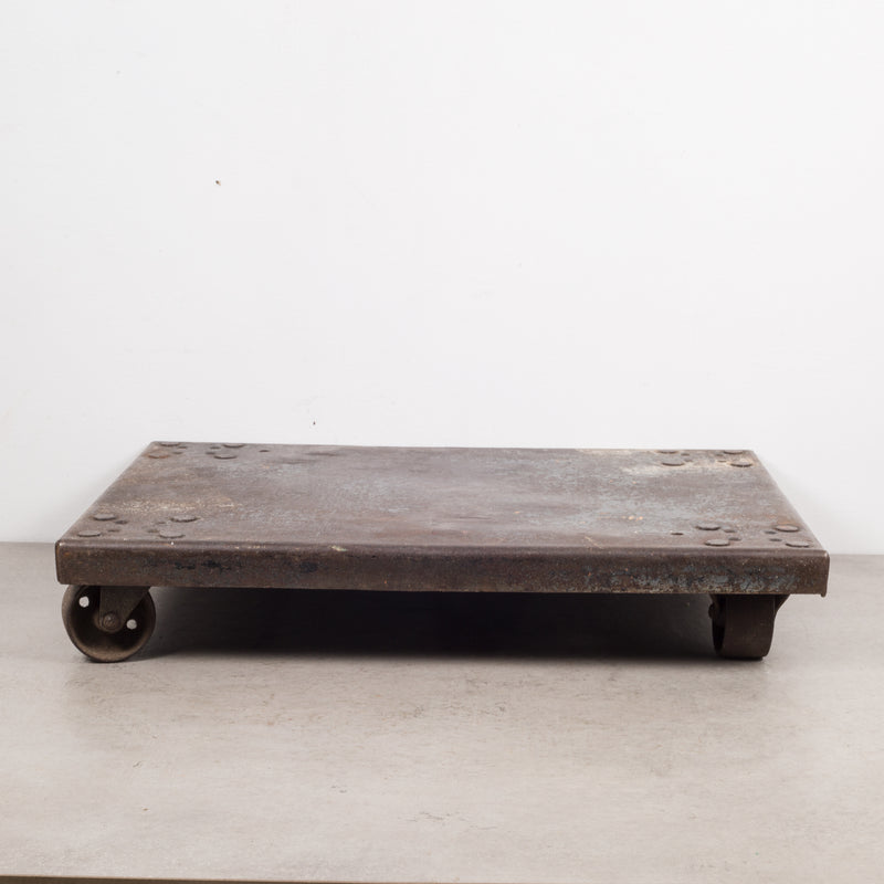 Early 20th c. Industrial Steel Dolly/Plant Stand c.1940