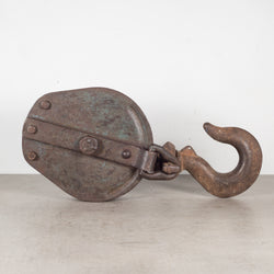 Antique Large Steel Pulley c.1900-1930