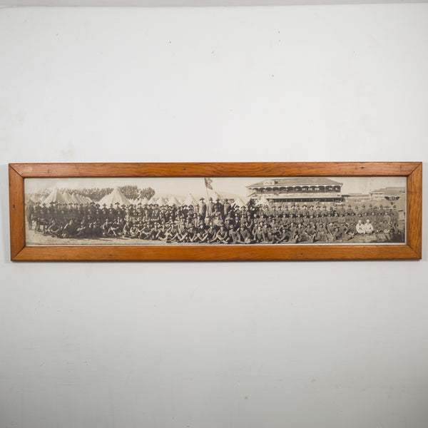 "Early 20th c. ""Camp Tanforan, The Grizzlies"" Panoramic Photo c.1917"