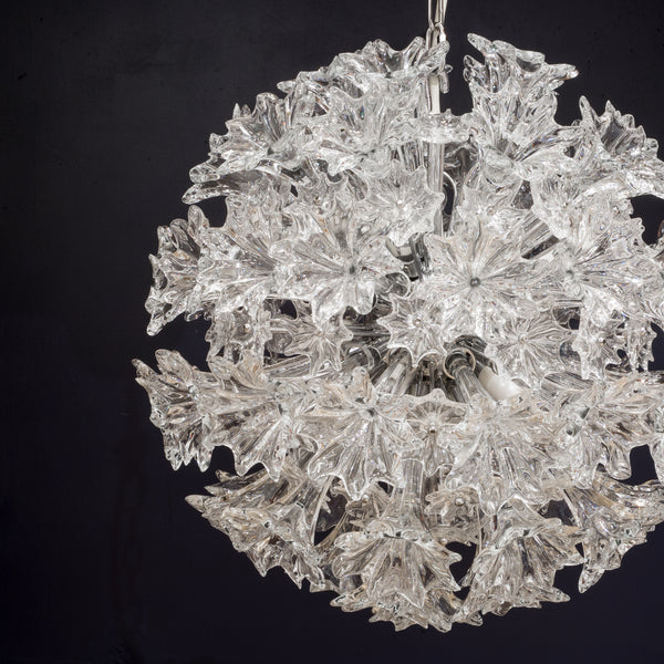 Venini Esprit Crystal Chandelier X-Small