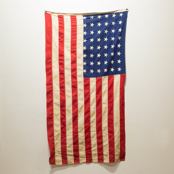 American Flag with 48 Stars c.1940