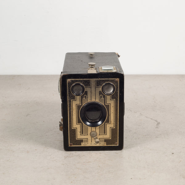 Mid-century Leather Box Camera c.1950
