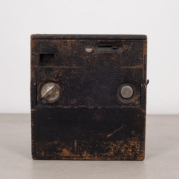 Antique Leather Box Camera c.1890