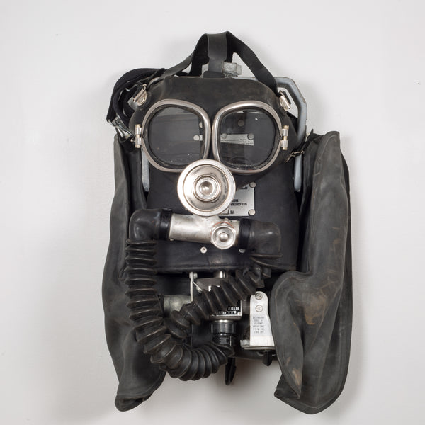 Miner's Oxygen Mask/Original Case c.1960