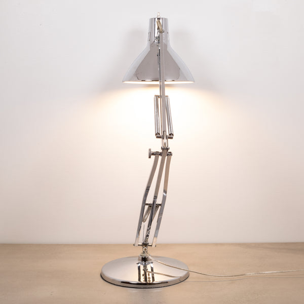 Luxo L-1 Articulated Chrome Desk Task Lamp c.1960
