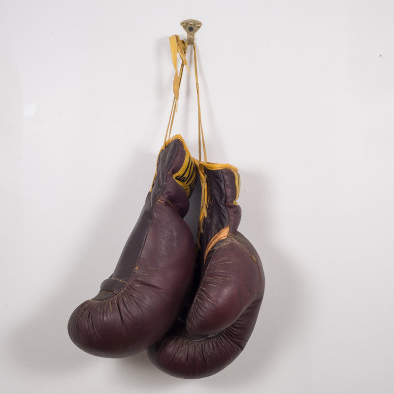 Leather Everlast Boxing Gloves c.1960