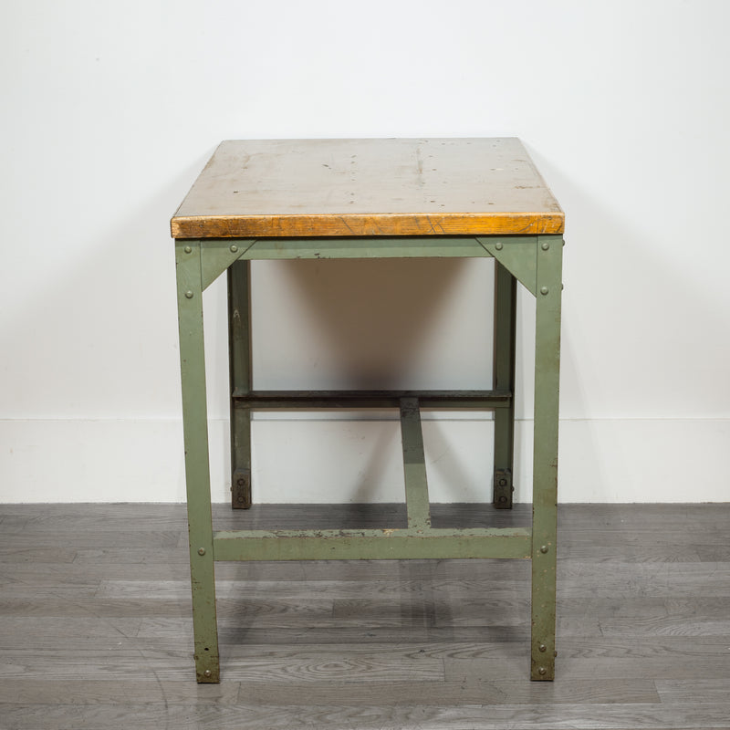 Early 20th c. Industrial Machinist's Work Table c.1940