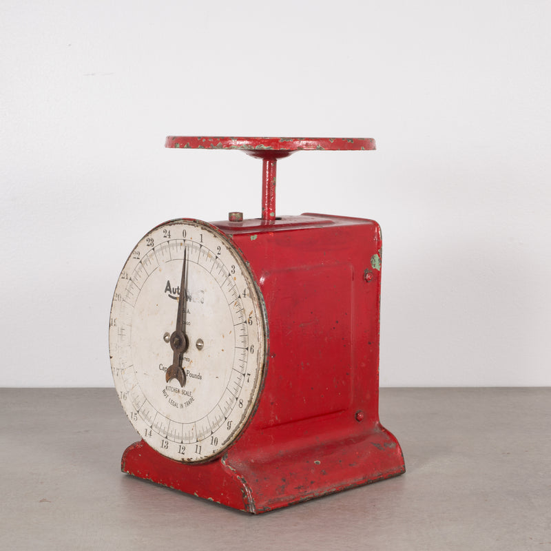 Metal Kitchen Scale c.1940