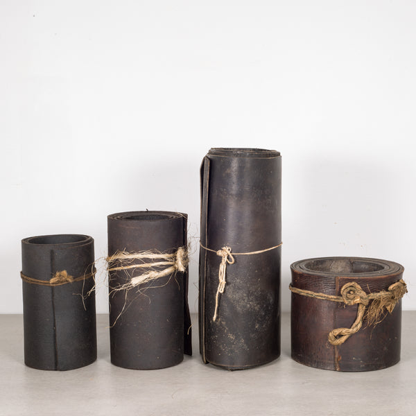Vintage Cobbler Shop Leather Rolls c.1920