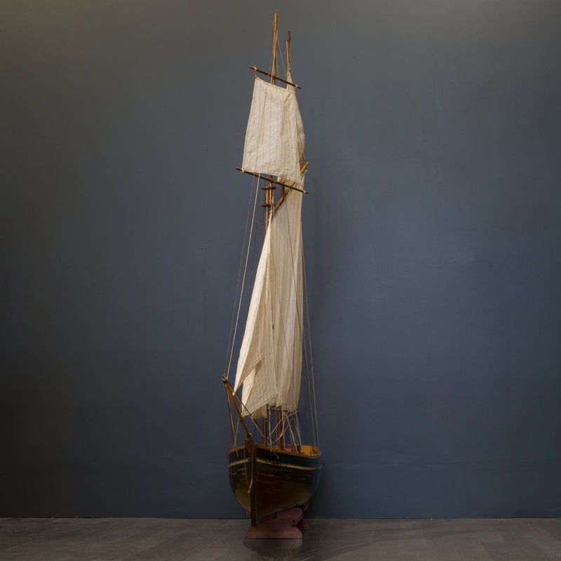 Early 20th c. Monumental Ship Model c.1940
