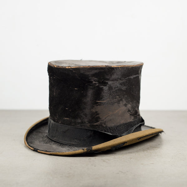 Antique Silk Top Hat c.1850-1900