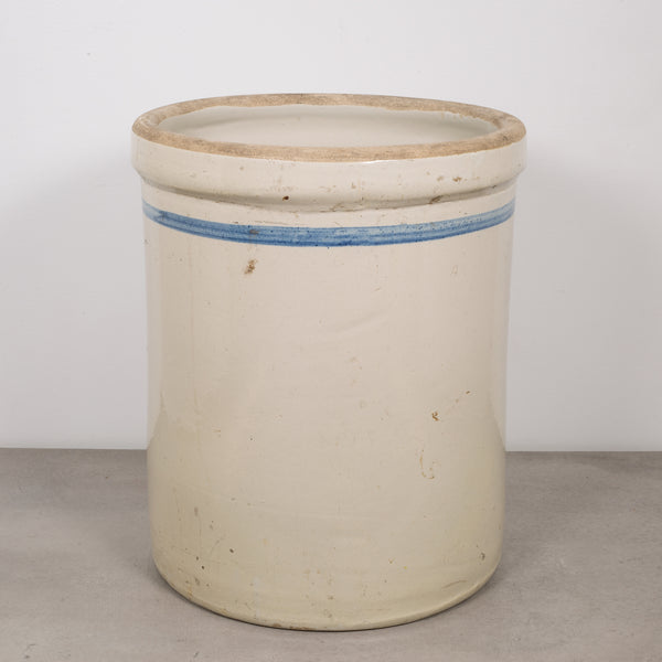 Early 20th c. Antique Stoneware Crock c.1910