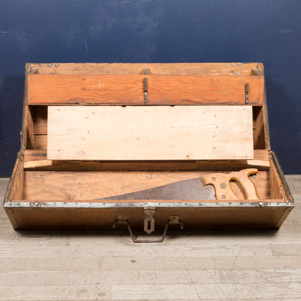 Handmade Carpenter's Toolbox c.1930