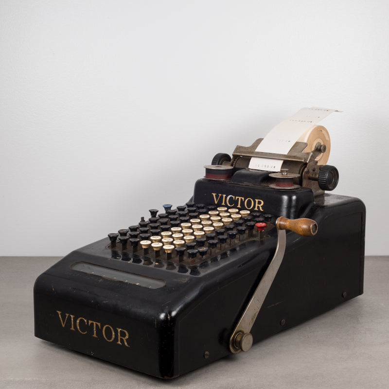 Antique Adding Machine by Victor Adding Machine Co. c.1919