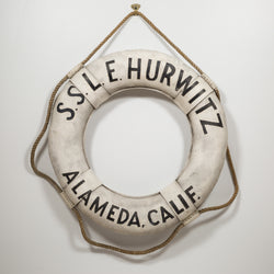 Early 20th c. S.S.L.E Hurwitz Alemeda Calif. Life Perserver c.1940