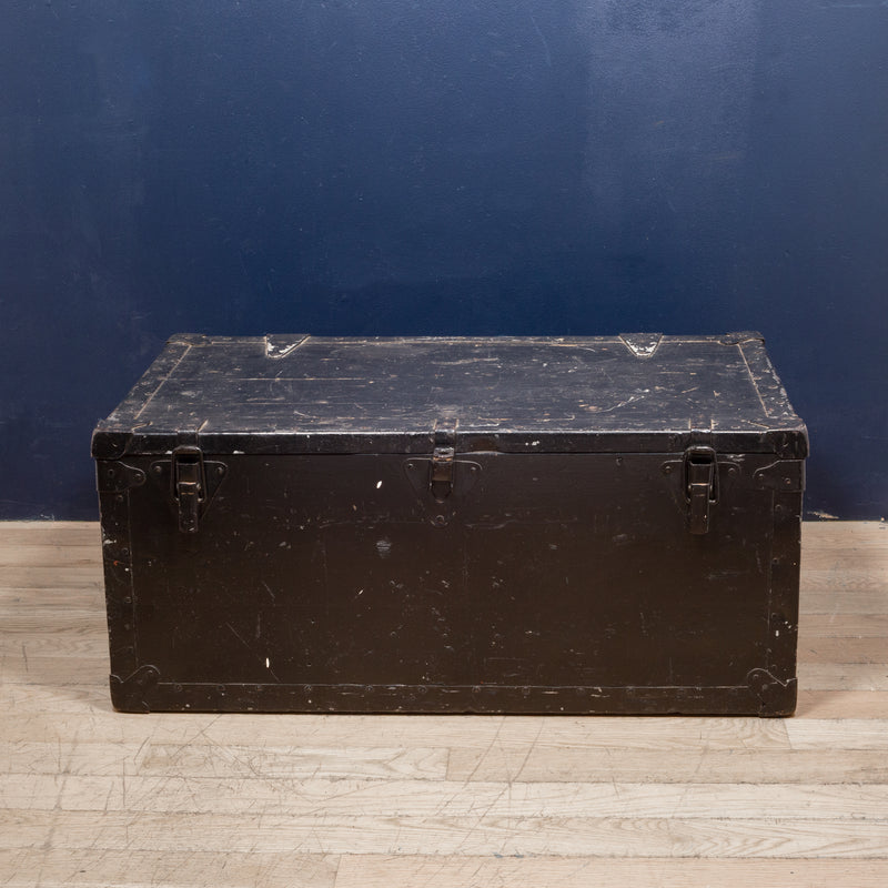 Early 20th c. Painted Wood Chest c.1940