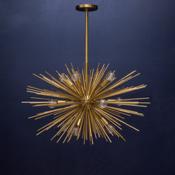 Zanadoo Small Starburst Chandelier by Arteriors Home