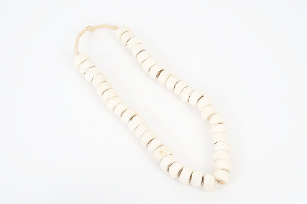 White Bone Bead
