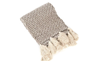 Ellie Chevron Throw
