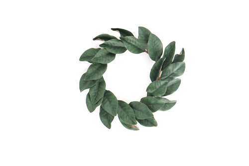 Magnolia Wreath Small