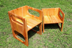 Mahogany Weaning Chair