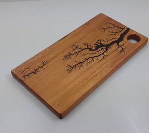 Lichtenberg Mahogany cheese board