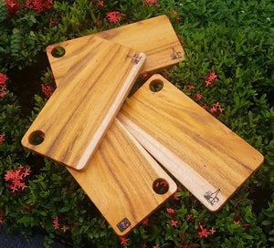 Plain Mahogany cheese board