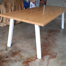 Scandanavian Pine Dining Table
