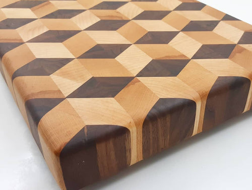 3D Butcher Block