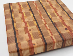 Checkered  Butcher Block