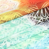 Chakra Collage Tapestry - wall art, fabric close up