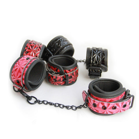 Faux Leather SexCuffs - Nooky Club
