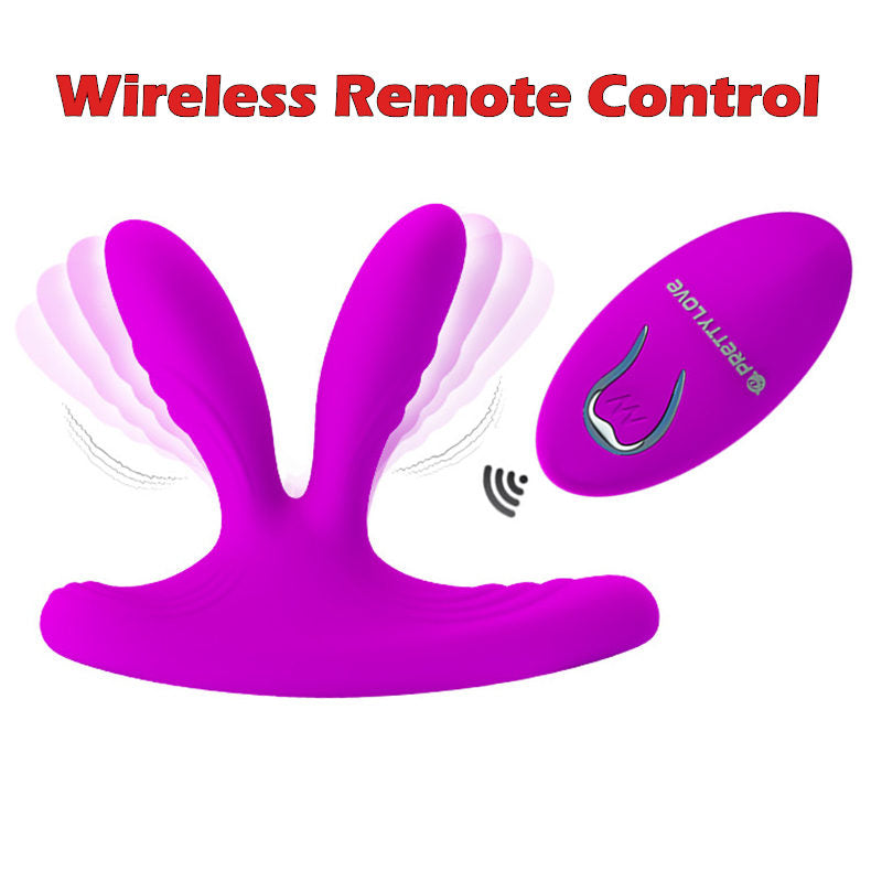 Remote Control Concealed Wear Vibrator - Dual Motors 12 Speed - Nooky Club