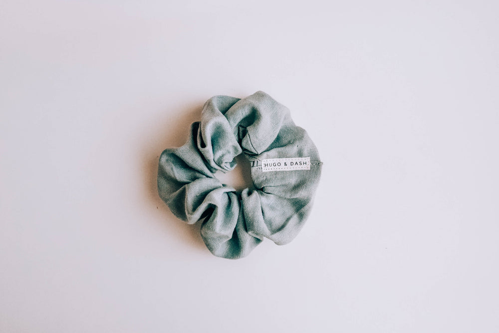 """Sea Foam"" Scrunchie"