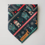 """Christmas Sweater"" Pet Bandana"