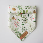"""Under the Mistletoe"" Pet Bandana"